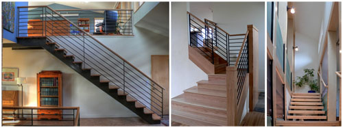 stairs in houses I have designed